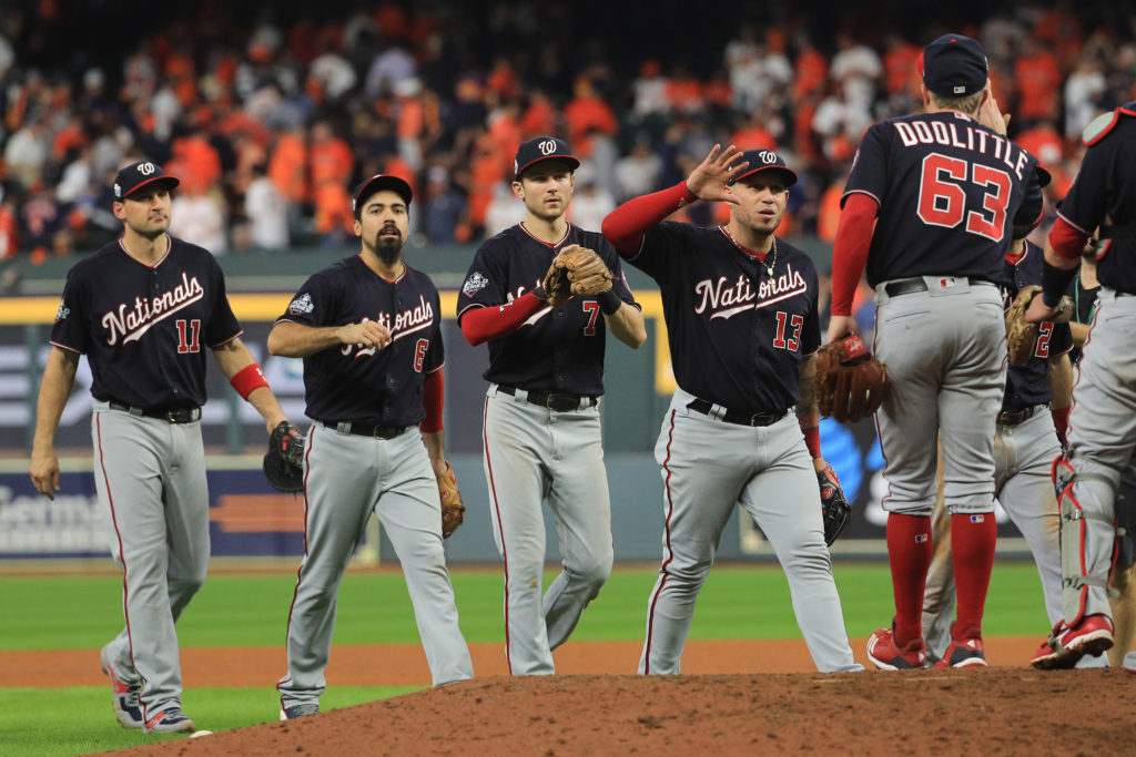 En la pelota | Nationals protestan contra Rob Manfred
