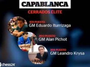 Iturrizaga brilla en torneo Capablanca