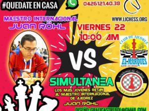 Se impone el ajedrez digital en Venezuela