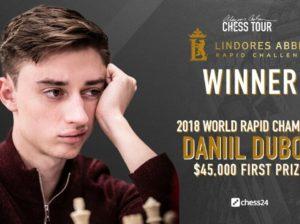 Dubov se impone con clase en el torneo Lindores Abbey