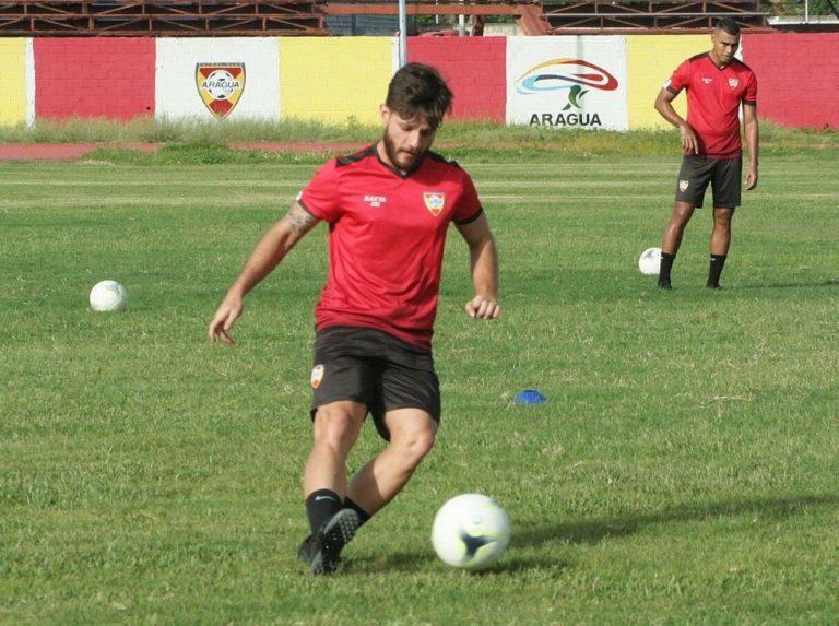 Aragua FC retomó entrenamientos en el terreno de juego