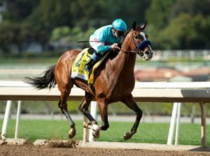 De pedigree: Authentic expone su invicto en el Santa Anita Derby