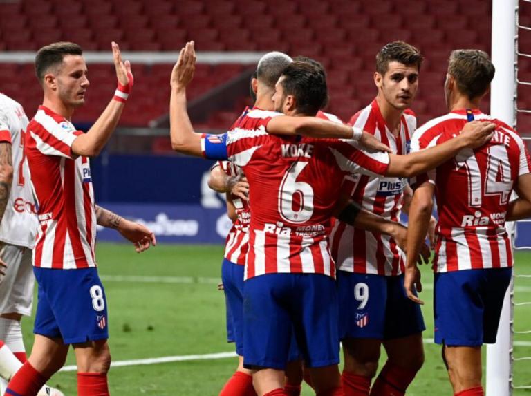 Atlético Madrid afianza el tercer puesto con una goleada al Mallorca