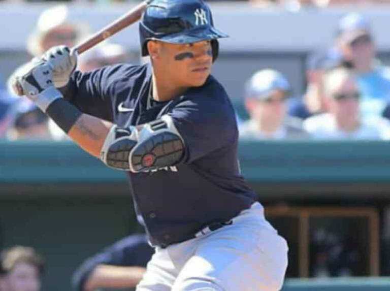 Thairo Estrada sacudió cuadrangular en juego interescuadra de los Yankees (+Video)