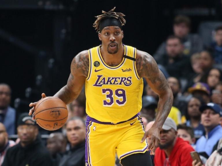 Dwight Howard confirmó que jugará con los Lakers en reanudación de la campaña