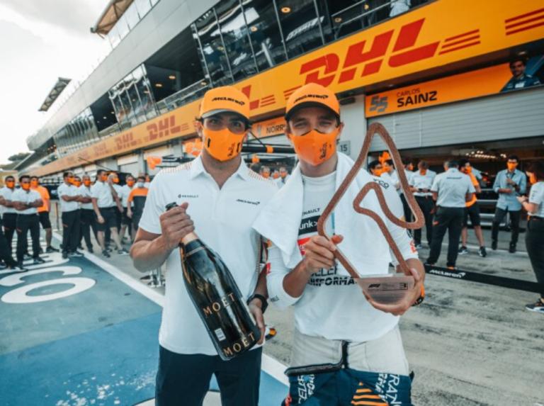 Carlos Sainz pronostica nuevos podios para McLaren esta temporada