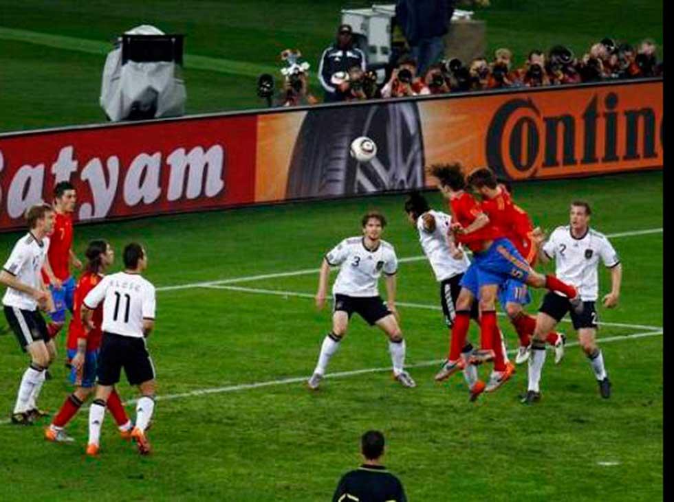 Puyol reveló al protagonista oculto detrás del éxito en Sudáfrica 2010