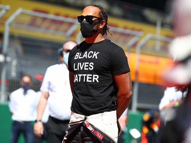 Hamilton cuestionado por su lucha contra el racismo