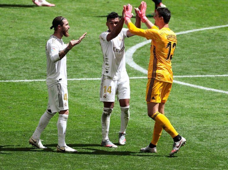 Real Madrid marcha hacia un nuevo título