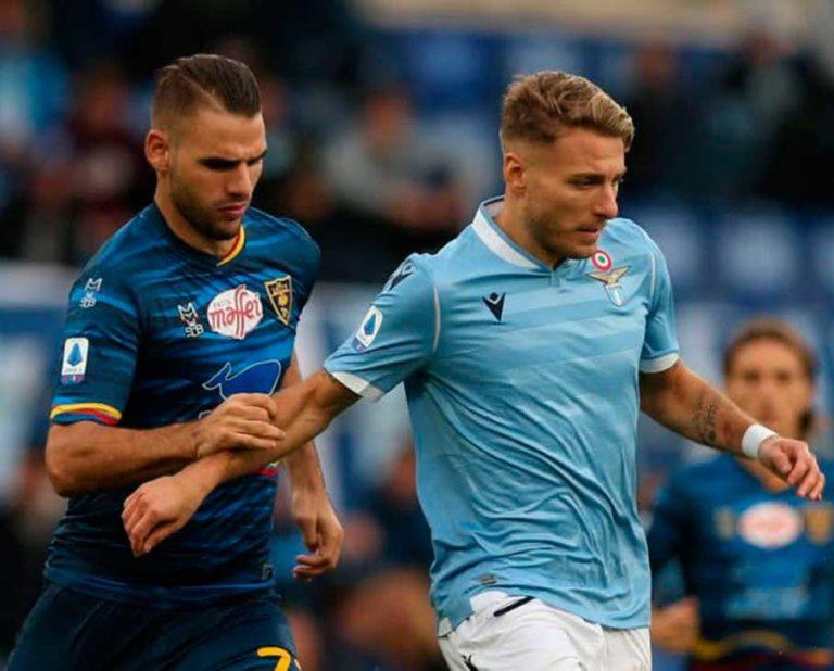 Lecce se creció y venció a la Lazio