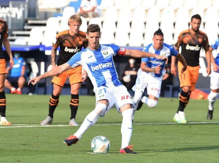 Valencia doblegó con pocas ideas al Leganés