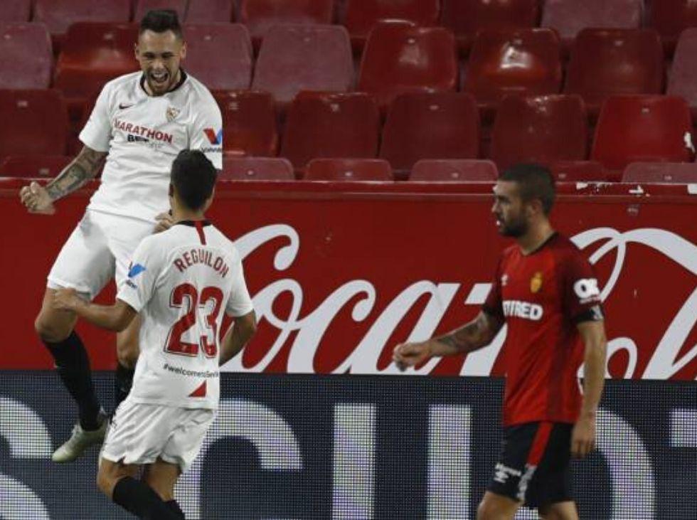 Sevilla acaricia la Champions