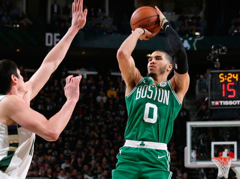 Tatum sella la victoria de Boston ante Washington