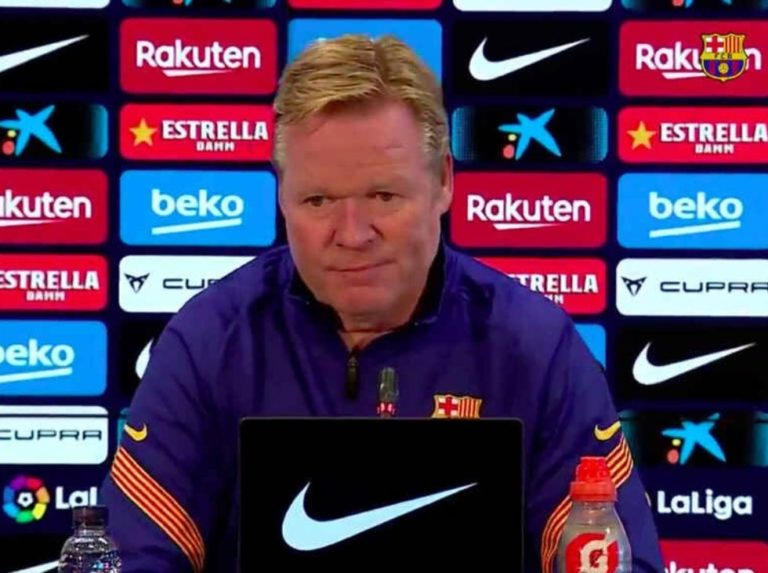 "Koeman: ""The culprit of losing points is not a single player"""