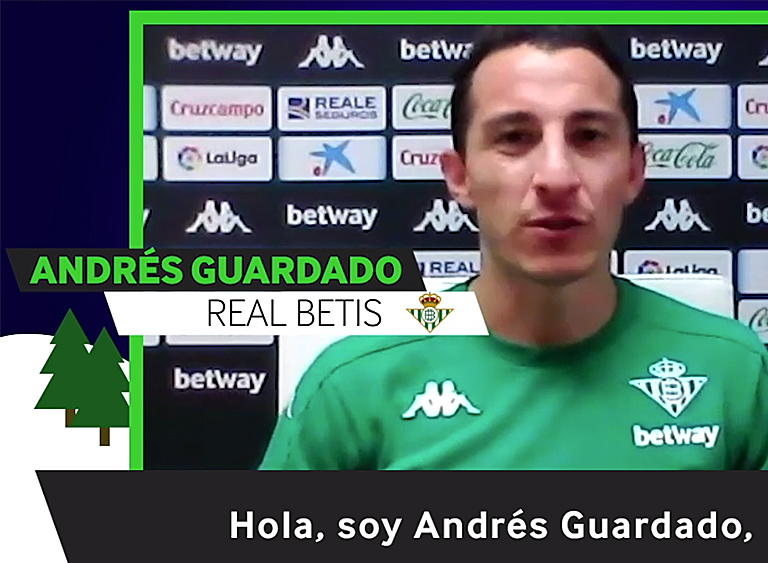 How does Andrés Guardado spend Christmas in 2020?
