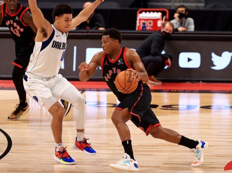 Raptors gana su tercer juego seguido al vencer a Mavericks