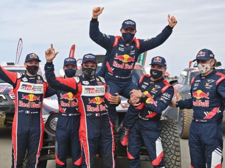 Stéphane Peterhansel was crowned in the Dakar Rally