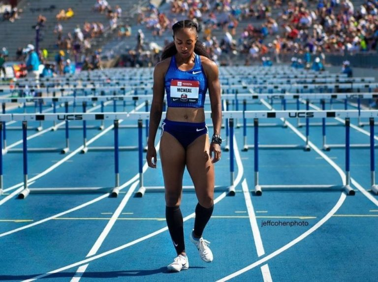 Campeona olímpica suspendida
