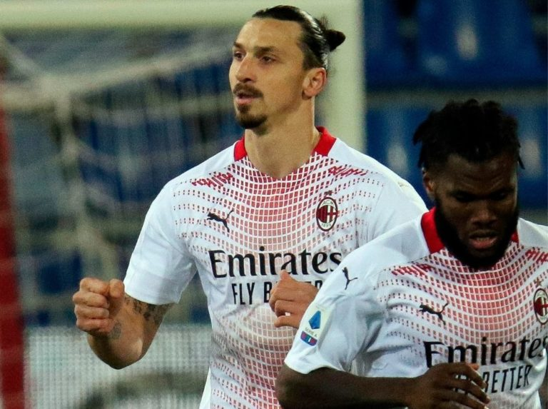 Ibrahimovic replaces AC Milan líder solitaire from serie a