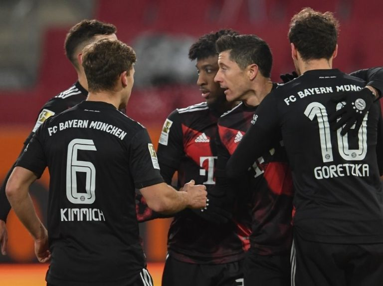 Bayern venció con lo justo al Augsburgo