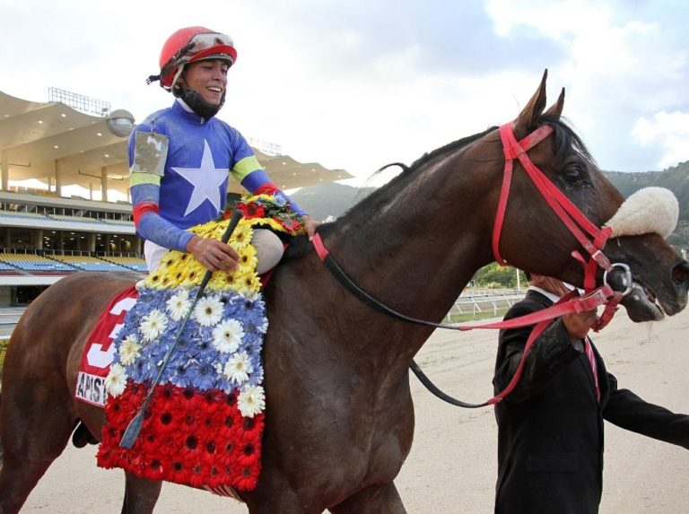 Wilfred Vásquez with nine mounts for this Sunday