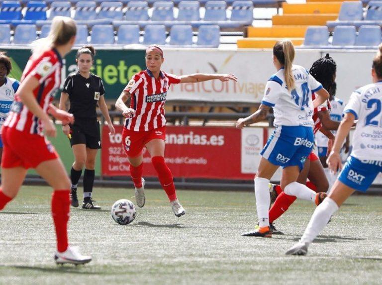 Deyna scored her tenth goal in an Atlético draw