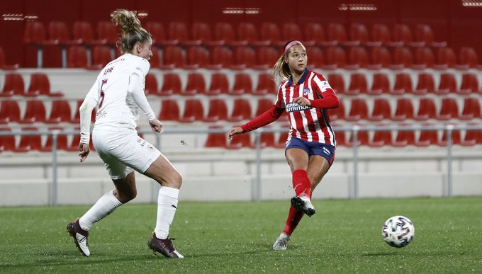Deyna Castellanos met rival in the Champions League round of XNUMX