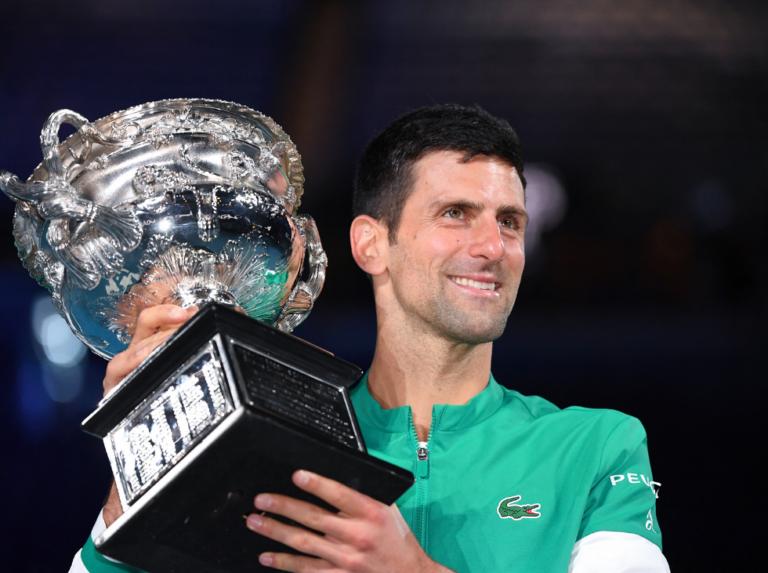 Djokovic wins the Australian Open