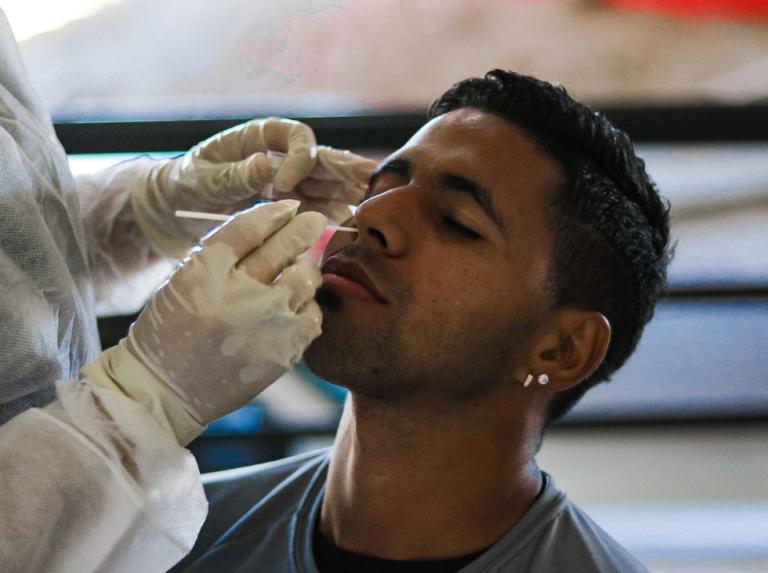 Caracas realizó pruebas PCR