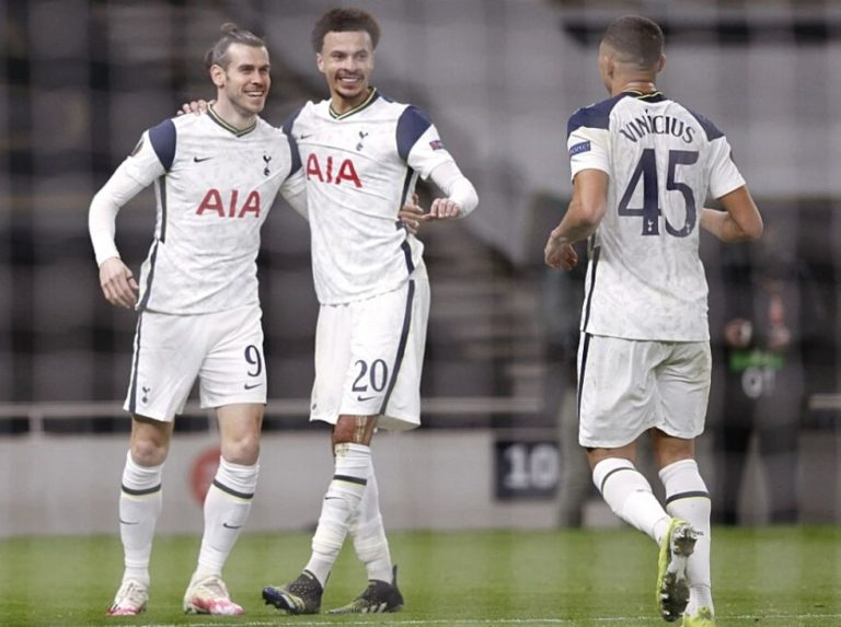 Tottenham fulfilled and advanced to the eighth of the Europa League
