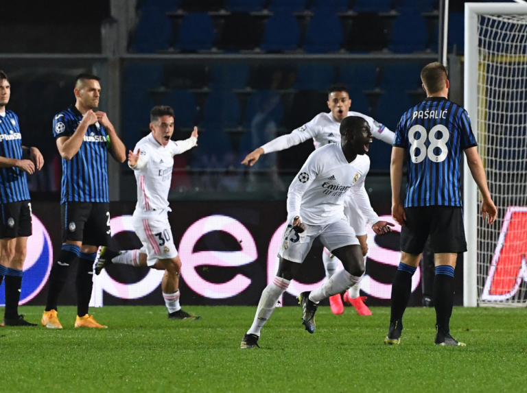 Mendy led the victory of Real Madrid against Atalanta