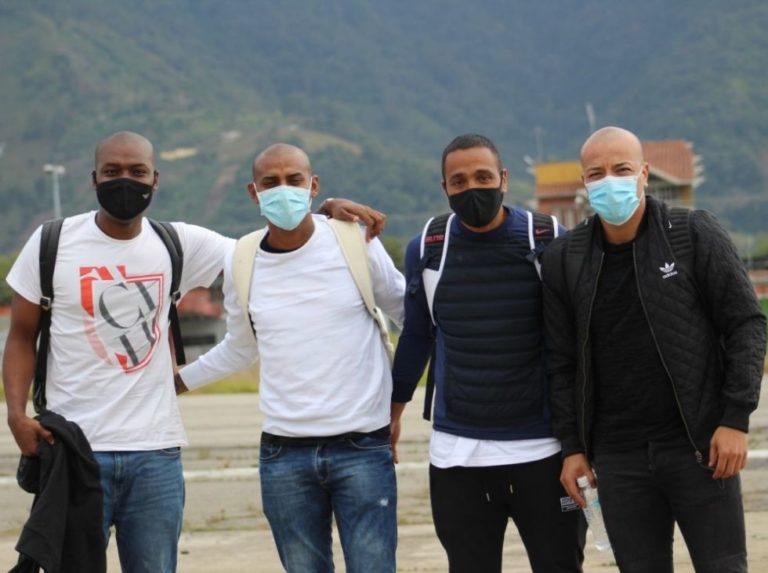 Estudiantes de Mérida recibió a sus internacionales