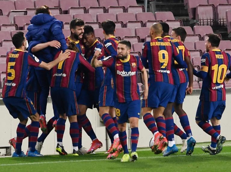 Barcelona remontó y eliminó al Sevilla de la Copa del Rey