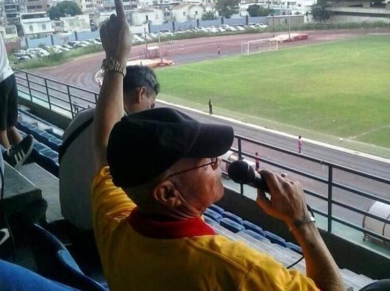 Un patriarca del fútbol nacional