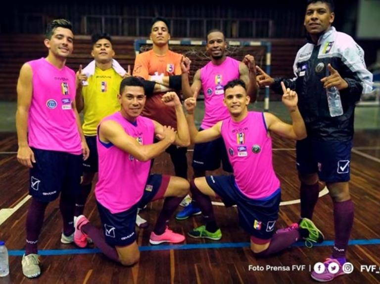 Vinotinto de Futsal se mantiene concentrada en Caracas