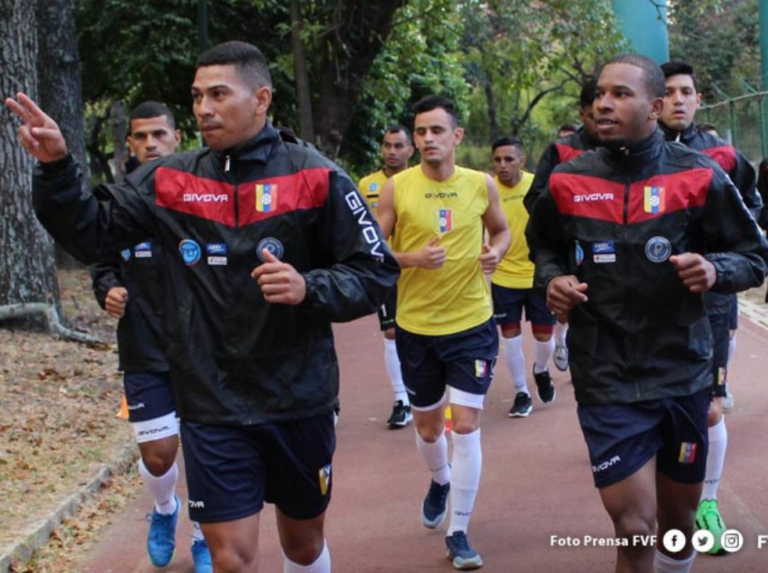 Vinotinto del futsal sigue su preparación en Caracas