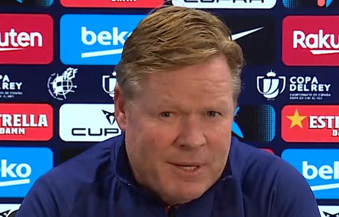 """Koeman: """"Debemos hacer un partido mejor que el del sábado para pasar"""""""