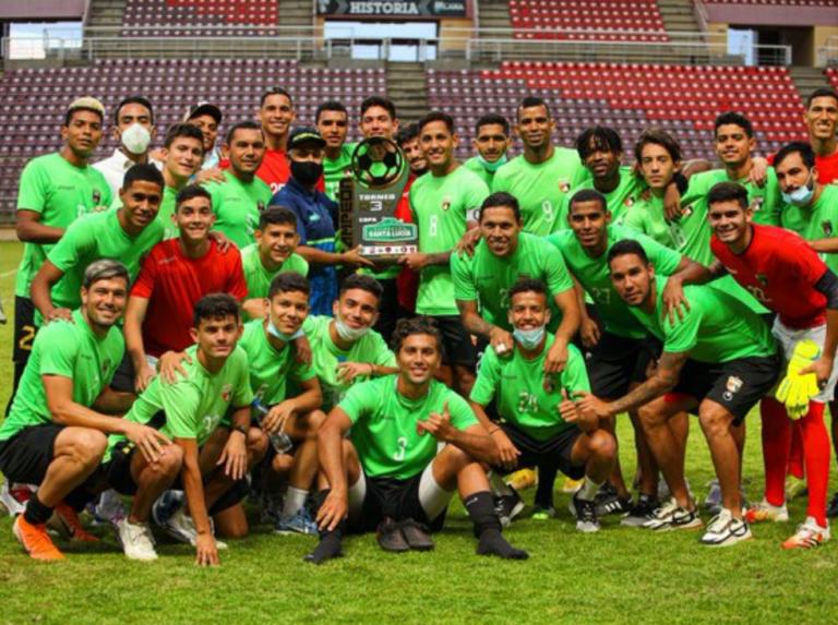 Deportivo Lara conquistó Copa Santa Lucía