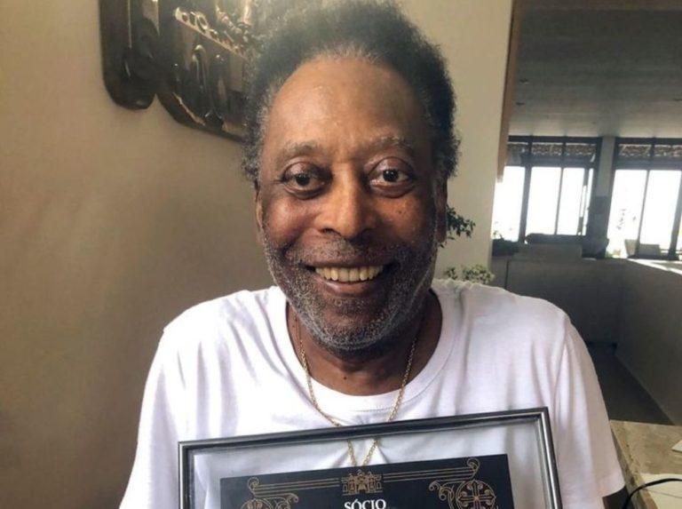 Pelé es nuevo socio honorifico del Vasco da Gama