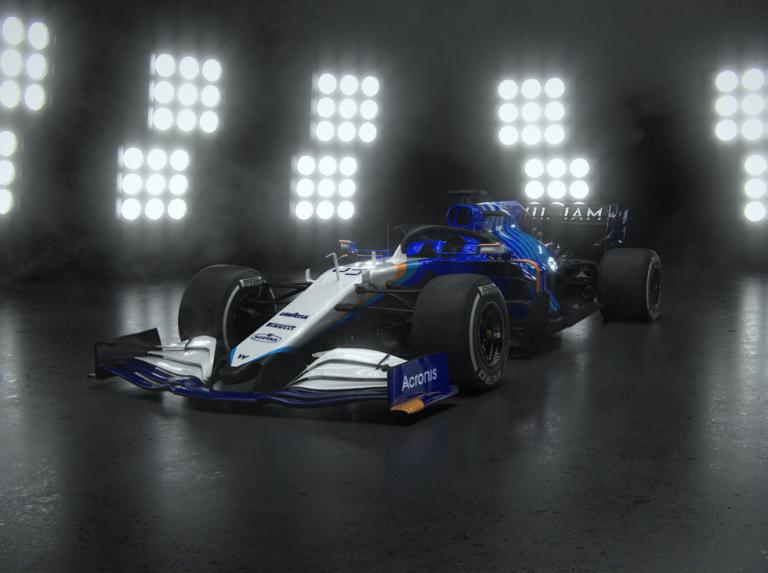 Williams presenta su nuevo FW243B para el 2021