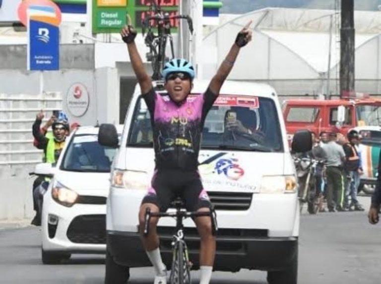 Yurgen Ramírez coronó en la Vuelta Independencia
